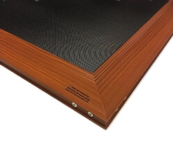 Security Screens QLD In House Security Product Ranges - Woodgrain Selection Installation Image