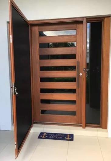 Security Screens QLD Security Doors Manufacturers - Benefits of Security Screen Doors Timber Door with Natural Light