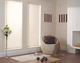 Security Screens QLD Window Coverings Blinds, Shutters & Curtains - Vertical Blinds Services White Nude