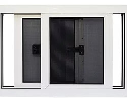Security Screens QLD In House Security Product Ranges - Servery Screenguard Range Sliding Openable