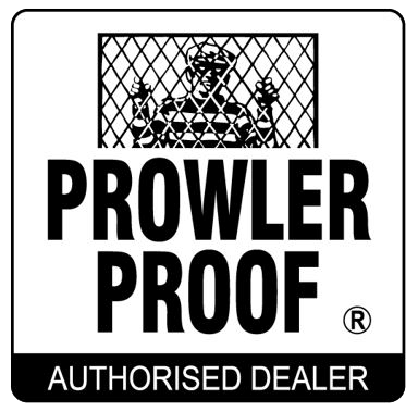 Security Screens QLD Prowler Proof Services - Prowler Proof security doors and screens Logo Authorized Dealership