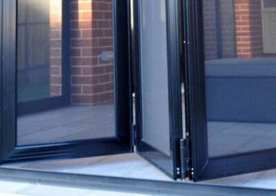 Security Screens QLD Gallery - Bi-fold Security Screen Doors Installation Glass