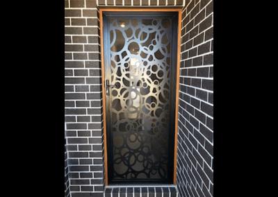 Security Screens QLD Gallery - Deco Screen Door Decorative