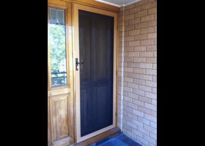 Security Screens QLD Gallery - Woodgrain Security Screen Door